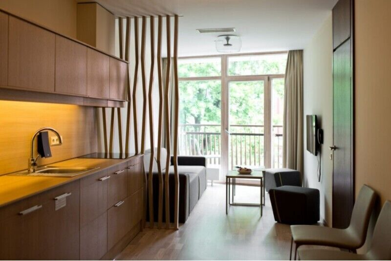 """2 nakvynės su SPA viešbutyje """"Amberton Green Apartments Palanga"""""""
