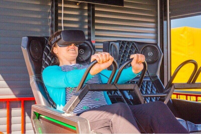 Virtualios realybės atrakcionas Anykščiuose