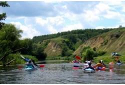 Vienos dienos žygis baidarėmis pasirinkta Dzūkijos upe