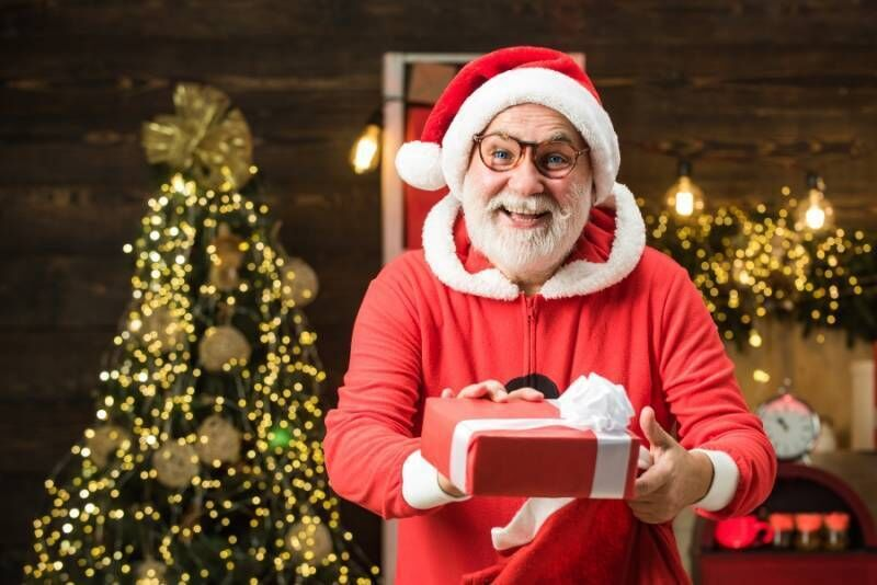 Kalėdų senelio atvykimas į namus Vilniuje