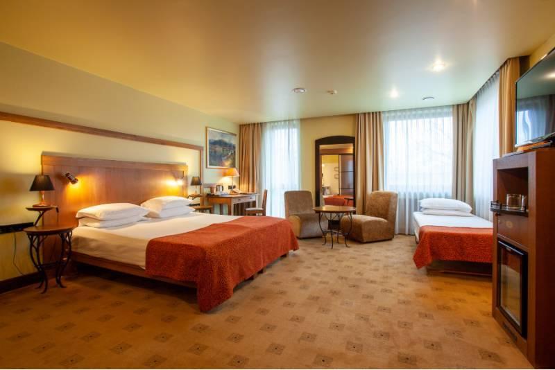 """Romantiškas poilsis su vakariene ir SPA viešbutyje """"Best Western Santaka"""""""
