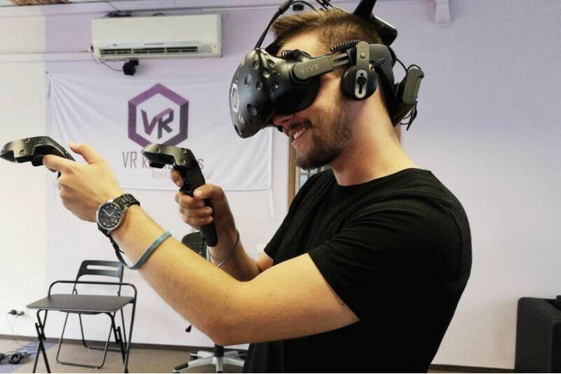 Apsilankymas virtualios realybės kambaryje 1-6 asmenims