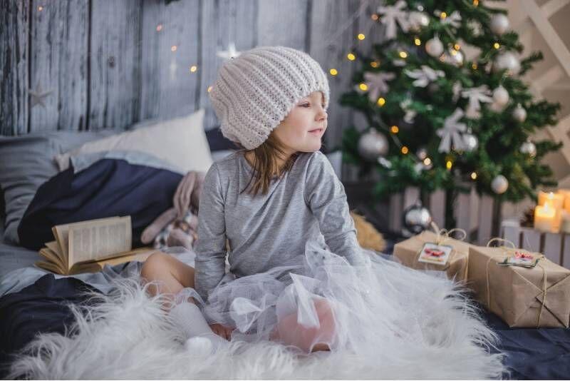 Kalėdų senelio skambutis vaikui