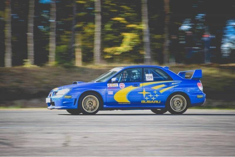 """Ekstremalus pasivažinėjimas su """"Subaru Impreza 2007"""" Nemuno žiedo trasoje"""