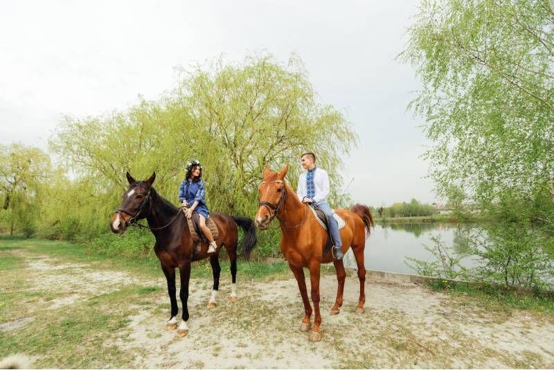 Jodinėjimas žirgais gamtoje po Biržų krašto apylinkes