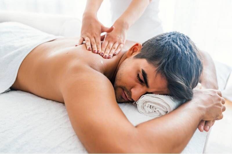 """SPA rinkinys vyrams masažo namuose """"Nidos kopos"""""""