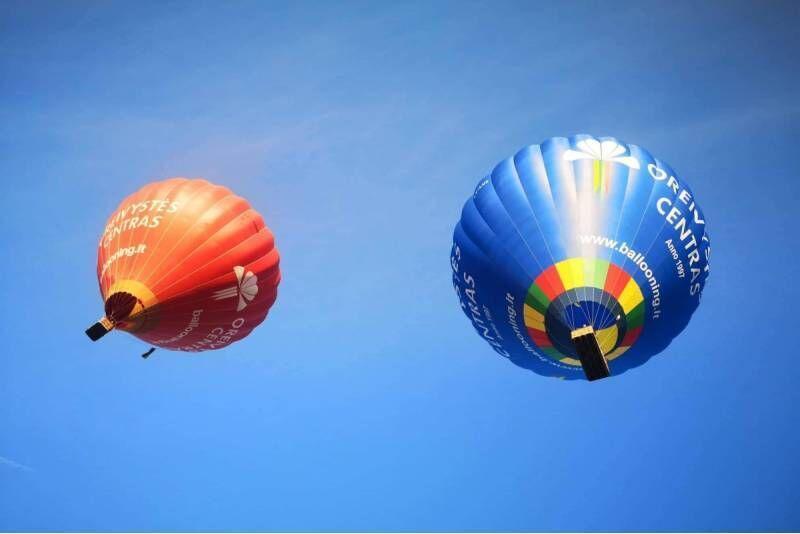"""Skrydis oro balionu vaikui pasirinktame mieste su """"Oreivystės centru"""""""