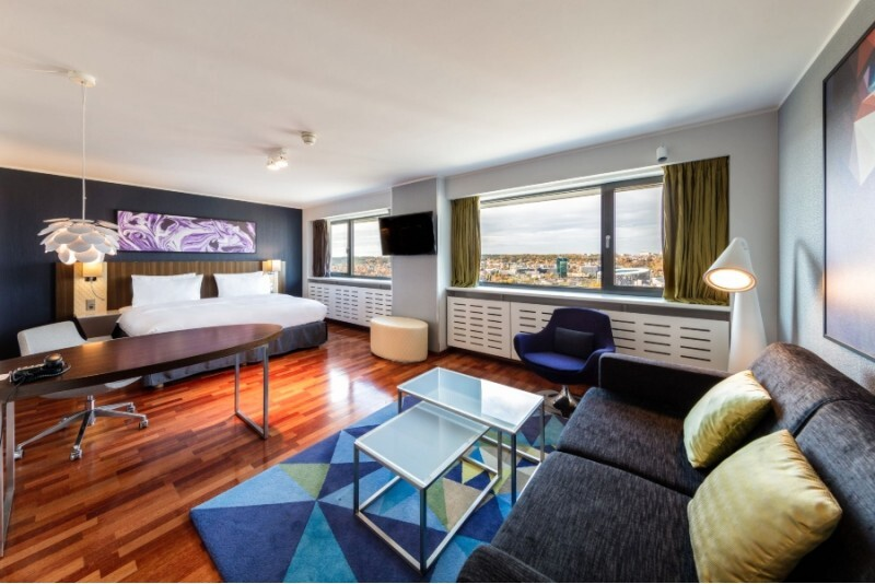 """Nakvynė dviem apartamentuose su vaizdu  """"Radisson Blu Hotel Lietuva"""""""