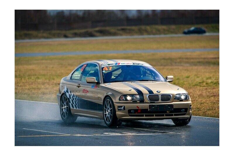 """Vairuok sportinį """"BMW 328i"""" Nemuno žiedo trasoje"""