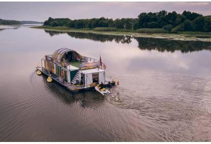 2 dienų kruizas Nemo plaustu Nemuno upe