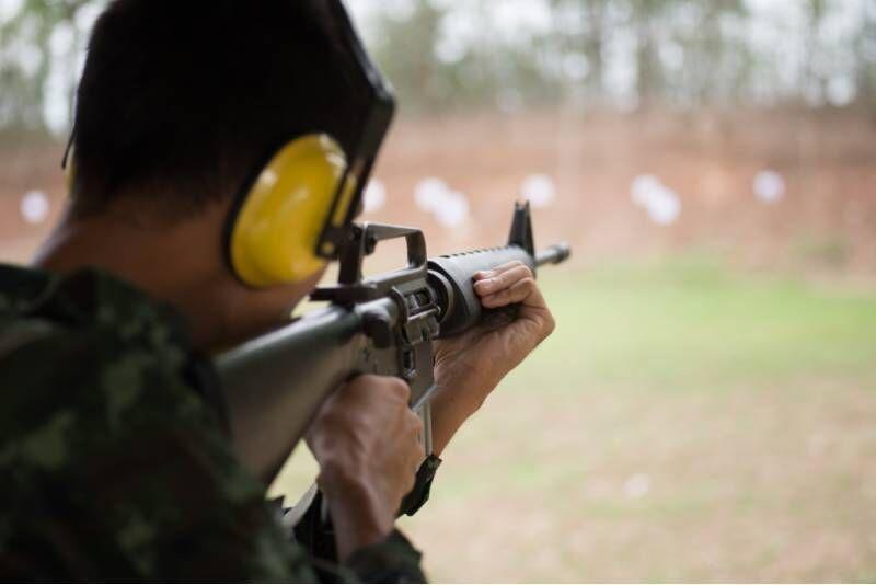 """Šaudymas lauko šaudykloje (120 šūvių) """"Šūvio klube"""""""