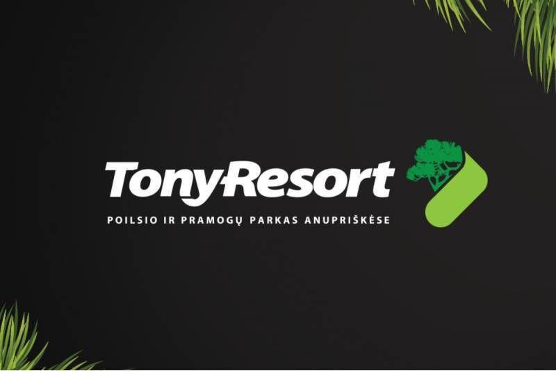"""Poilsio ir pramogų parko """"Tony Resort"""" dovanų čekis"""