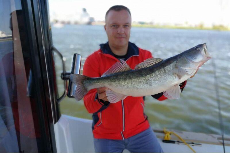 Žvejyba Kuršių mariose kompanijai Klaipėdoje