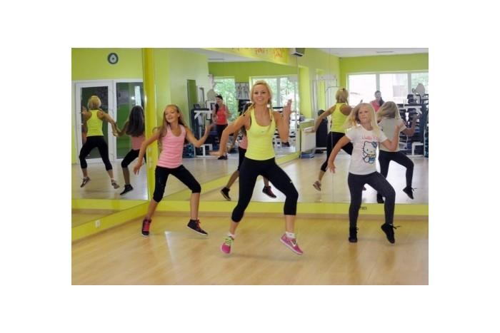 Dance - fitness treniruočių abonementas mergaitei Alytuje