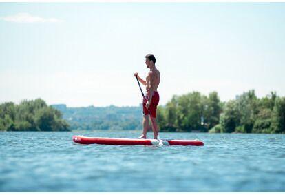Plaukimas irklente vienam asmeniui Trakuose