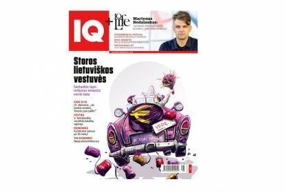 """Žurnalo """"IQ"""" prenumerata"""