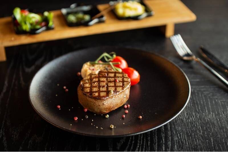 "Apsilankymas restorane ""The Town Steak House"" Vilniuje"