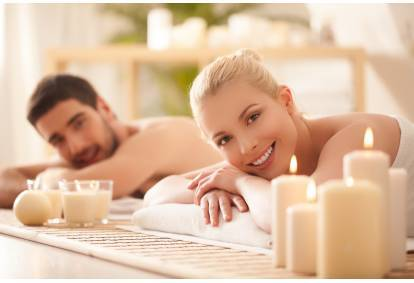 Aromaterapinis viso kūno masažas dviem Vilniuje