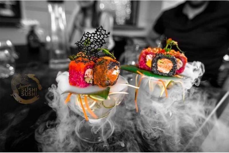 """Apsilankymas restorane """"Lounge SUSHI SUSHI"""" Kaune"""