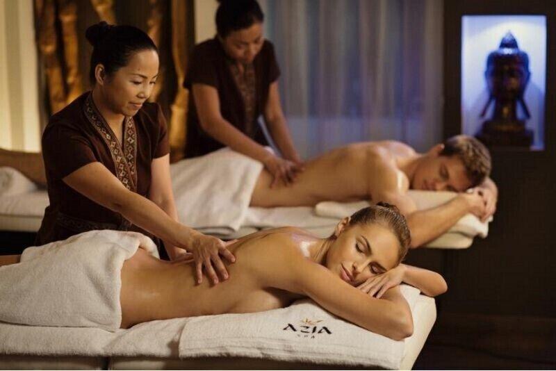 """Rytietiškas atgaivos ritualas dviem masažo namuose """"Azia Spa"""""""