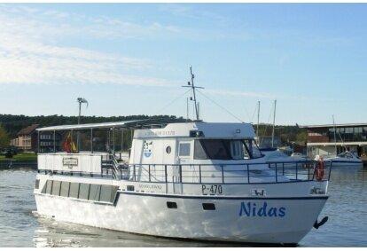 """Pasiplaukiojimas laivu """"Nidas"""" Kuršių mariose"""