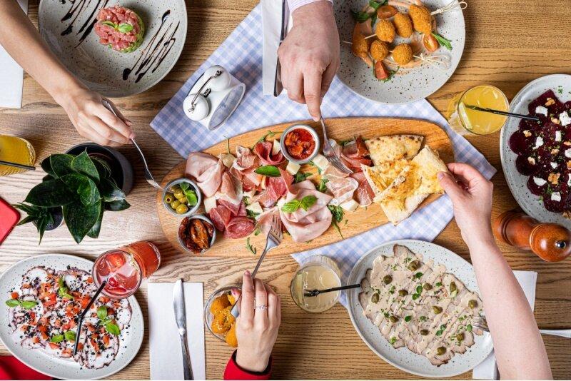 "Apsilankymas ""Casa della Pasta"" restorane"