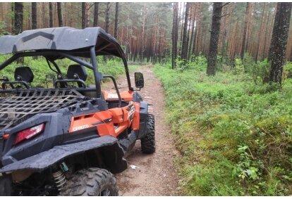 Bagių safaris Vilniaus rajone
