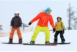 Mācies slēpot vai snovot kopā ar draugiem Žagarkalnā