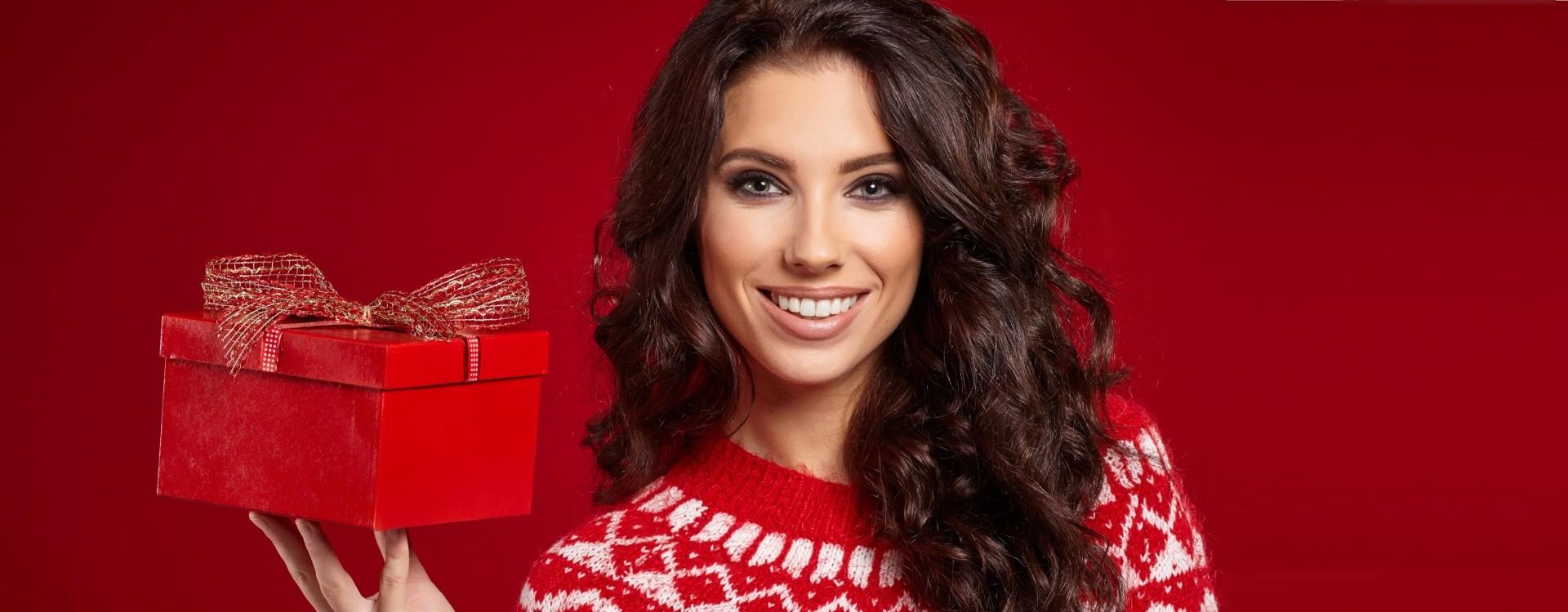 Ką padovanoti moteriai Kalėdoms?
