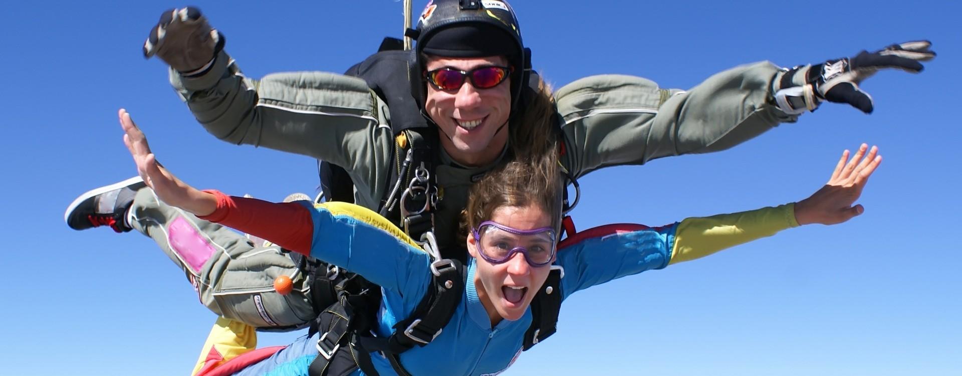Tandem šuolis parašiutu su filmavimu
